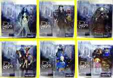 McFarlane Toys Series 1 Corpse Bride Movie Tim Burton 6 Figure Set New 2005 Depp