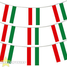 HUNGARY BUNTING 33,100,200,400FT LARGE DECORATION NATIONAL COUNTRY FLAG