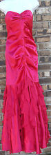 NWT JUMP APPAREL strapless pink ruffle beaded front prom dress, junior 3/4,7/8