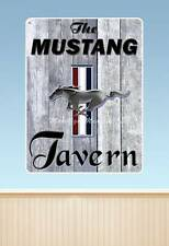 Ford Mustang Tavern Sign  WALL GRAPHIC DECAL MAN CAVE GARAGE MURAL 7327 NWT