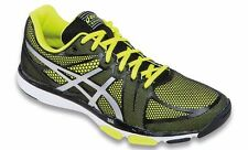 ASICS GEL EXERT TR BLACK SILVER YELLOW MENS TRAINING SHOES **FREE POST AUSTRALIA
