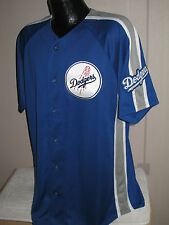 MLB Los Angeles Dodgers  Crosstown Rivalry Baseball Jersey Mens Majestic   Nwt