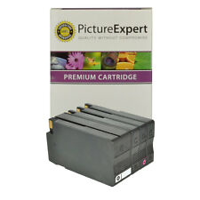 Compatible 950XL & 951XL Black & Colour 4 Ink Cartridge Pack for HP