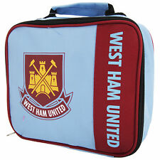 West Ham FC Childrens/Kids Official Wordmark Insulated Lunch Bag