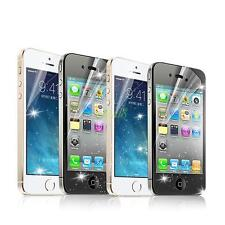 Glitter Clear Screen Film Protector Guard Cover Cleaning Cloth For Apple iPhone