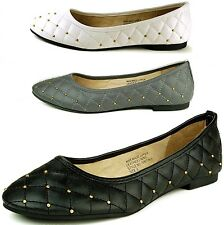 Alpine Swiss Pentunia Womens Ballet Flats Ballerina Slippers Round Slip On Shoes