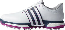 Adidas Tour 360 Boost Golf Shoes 2016 Mens F33481 White/Flash Pink/Min. Blue New
