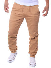 CHINO-JOGGERS Loose Fit CHINOS JOGG-JEANS TROUSERS STYLE J36