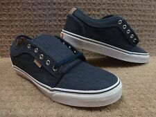 "Vans Men's Shoes ""Chukka Low"" -- (Totem) Navy/White"