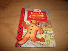 LADYBIRD BOOK READ IT YOURSELF  THE GINGERBREAD MAN  (LEVEL 2)