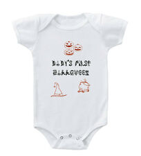 Baby's First Halloween Infant Toddler Baby Cotton Bodysuit One Piece