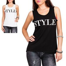 WOMEN'S TOP Oversized Tank Top Hipster Long Top Casual Shirt S/M M/L NEW
