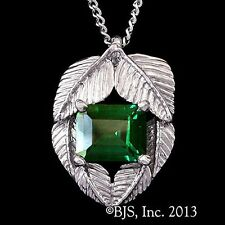 LORD OF THE RINGS Officially Licensed MIRKWOOD Elven EMERALDS OF GIRION Necklace