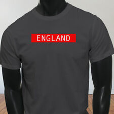 Home Core Euro Cup Football England Vintage Nike Soccer Mens Charcoal T-Shirt