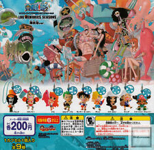Bandai One Piece LOG MEMORIES Seasons Phone Strap Figure Beach Version