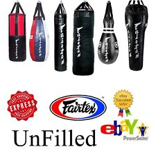 Fairtex Muay Thai Heavy Bag Leather for Kick Boxing K1 MMA ++UnFilled++