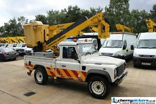 2009 Land Rover Defender 4x4 Powered Access Platform Cherry Picker - 13.5 Metre