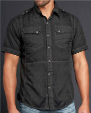 Affliction Black Premium - ADVENTURE - Men's Short Sleeve Woven Shirt  - 10WV480