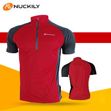 Men's Cycling Jersey Bike Bicycle Outdoor Sports Wear Shirt Short Sleeves Tops