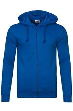 NEW TEXAS bull Full Zip Sweater Men's Hoody Jacket Blue 02109755 SALE