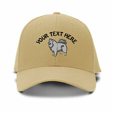 Your Text Here Custom Samoyed Embroidered Adjustable Hat Baseball Cap