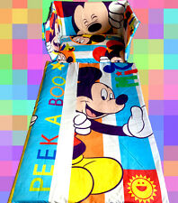 Disney Mickey Mouse Cot/Crib BEDDING SET - All sizes available
