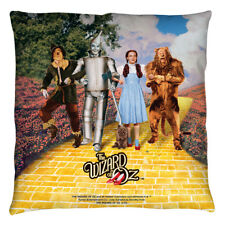 Wizard Of Oz Yellow Brick Road Licensed Decorative Throw Pillow Bed Couch
