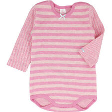 Kanz Baby Girls long-sleeved Body from warm Cotton pink striped NEW