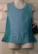 New Nike Girls Dri-Fit Technetic Tank Top-Blue