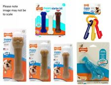 Nylabone Puppy Bones, for Teething Puppies, NOT FOR STRONG CHEWERS Pup Dog bones