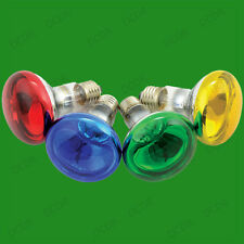 12x 60W R80 Coloured Reflector Dimmable Disco Spot Light Bulbs ES E27 Screw Lamp