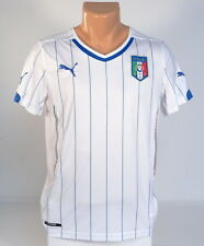 Puma Cell Dry FIGC Italia Footbball Team White Soccer Jersey Youth Boys NWT