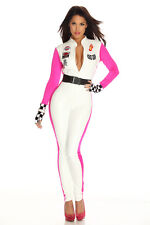 New Sexy Miss Indy Super Car Racer Racing Sport Driver Grid Girl Fancy Costume
