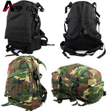 Hunting 3Day Molle Tactical Assault 600D Waterproof Backpack Woodland /Black