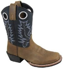 NEW! Smoky Mountain Boots - YOUTH - Western Cowboy - Leather - Square Toe