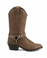 NEW! Smoky Mountain Boots - TODDLER - Western Cowboy Boot with Bracelet Brown