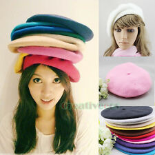 Fashion Stylish Women Winter Warm Wool Snow Beanie SKI Hat Cap Beret Many Colors