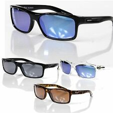 NEW REVO SQUARE CLASSIC POLARIZED SUNGLASSES - Choose Black/Tortoise/Crystal