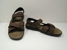 "Sharp! Mens Leather ""Timberland"" Sport Sandals - Shoe Size US 13 M"