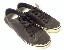 Crocs Hover Lace-Up Men's Leather  Sneaker Espresso / Stucco 7 8 9 10 11 12 13