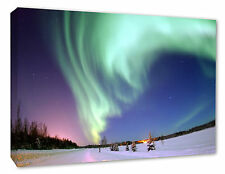 - NORTHERN LIGHTS Decor Picture Aurora Borealis Wall Canvas Print A1/A2/A3/A4
