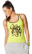 Zumba Instructor Dance Is Racerback - Zumba Green Z1T01026