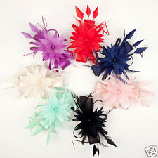 Fashion Women Church Derby Cocktail Sinamay Fascinator Hat Veil Headband Party