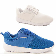 MENS BOYS FITNESS CASUAL TRAINERS SPORT LACE UP COMFORT JOGGING STYLE SHOES SIZE