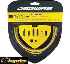 Jagwire Racer Racing Road Pro Bike Bicycle GEAR BRAKE Cable Kit Gold Cables