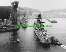 USS Oklahoma City CLG-5 Photo Navy Military Black n White USN  CLG-6 1964