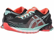 ASICS GEL KINSEI 6 BLACK SILVER CORAL WOMENS 2016 SHOES **FREE POST WORLDWIDE