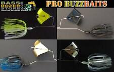 PRO bass fishing buzz baits. Free KVD trailer hook! FREE buzzbait trailers!