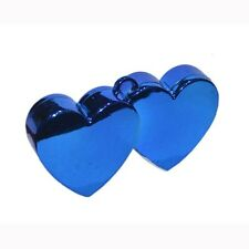 Blue Double Heart Balloon Weights for Helium Balloons - Balloon Weight