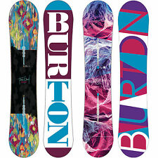 Burton Feelgood Camber Damen Snowboards All Mountain Freestyle 2016-2017 ICS NEW